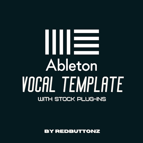 Ableton Recording Template (with stock plug-ins)