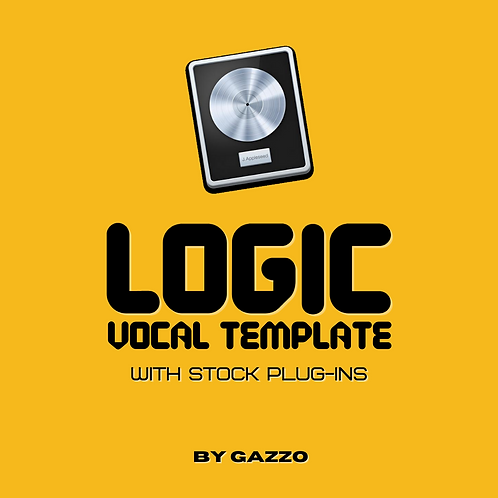 Gazzo's Logic Recording Template (with Stock Plug-Ins)
