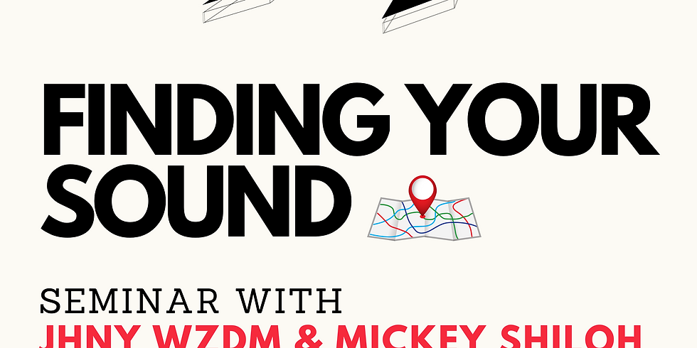 Finding Your Sound Seminar