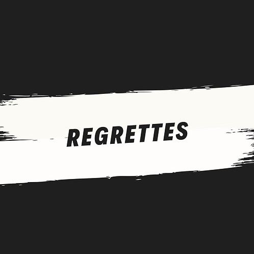 regrettes (acapella)