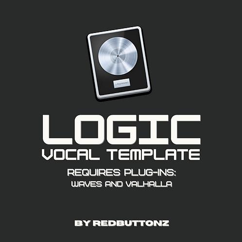 Logic Recording Template (requires plug-ins)