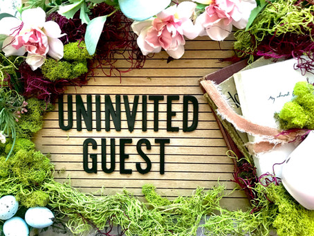 A Warm Cup of Comfort: Uninvited Guest. A Winner & A New GIVEAWAY!