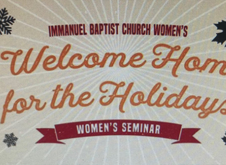"""""""Welcome Home for the Holidays"""" Seminar with Sheri Torelli"""
