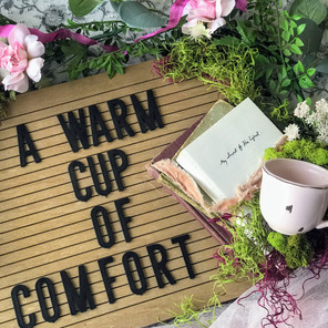 A Warm Cup of Comfort and a GIVEAWAY!