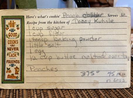 Mixing Bowl: Recipes!