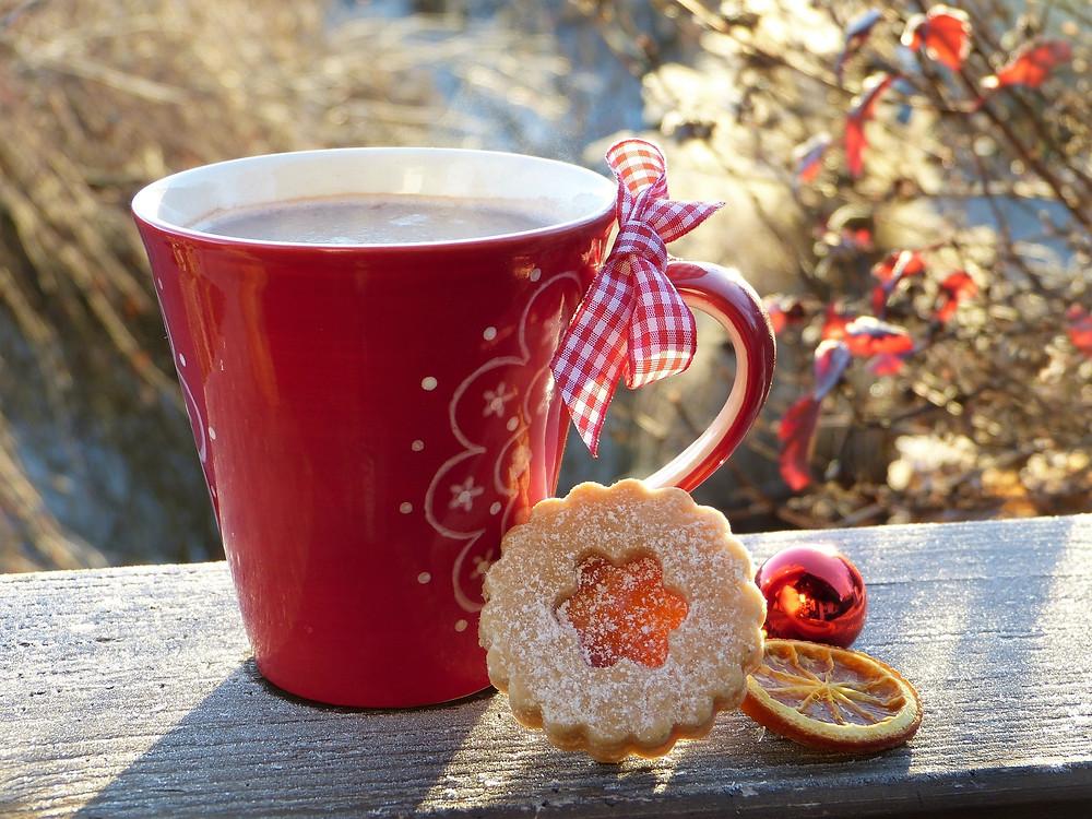 Christmas Mug & Cookies