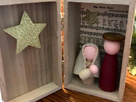 Boxed Nativity