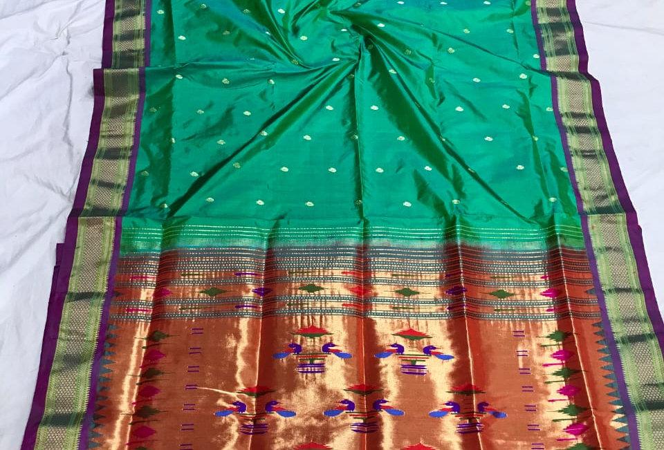 Swara-Paithani Double Padar Sarees