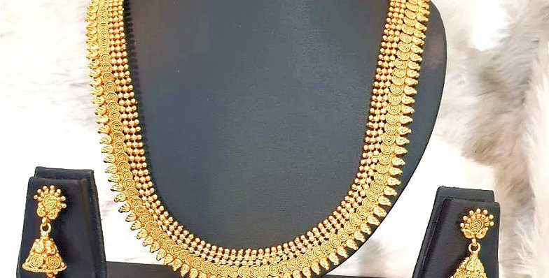 Gold Plated Imitation Necklace