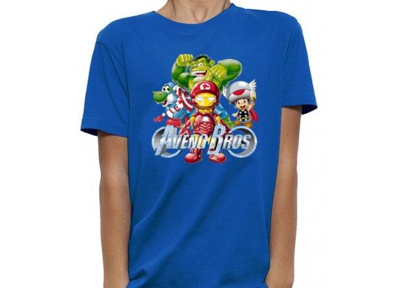 T-shirt 3D animé AVENGERS BROS