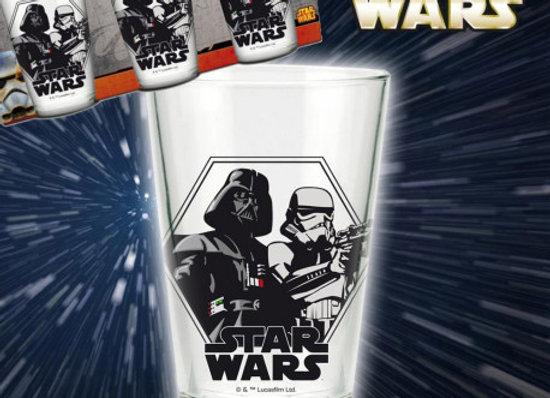 Verres Star Wars lot de 3 pièces.