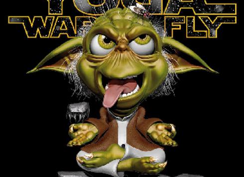 T-shirt enfant classique YODA WAR FLY
