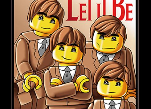T-shirt classique manches courtes BEATLES LEGO