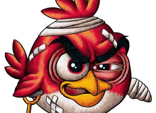 T-shirt classique BIRD ACCIDENT