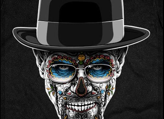 T-shirt classique manches longues BREAKING BAD