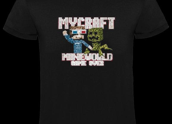 T-shirt classique MYCRAFT MINEWORLD