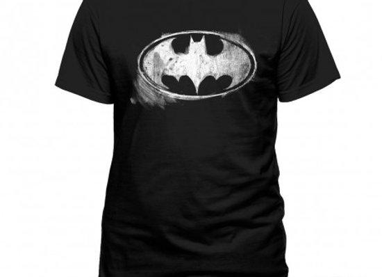 T-shirt classique noir BATMAN LOGO CRAIE