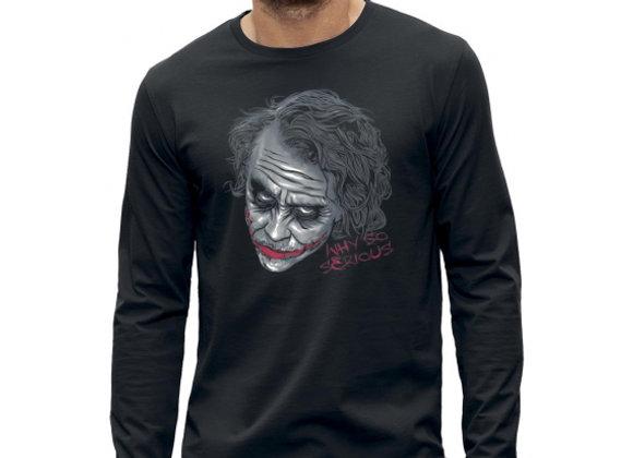 T-shirt manches longues 3D animé THE JOKER