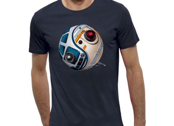 T-shirt 3D animé DROIDES D2R2 VS BB8