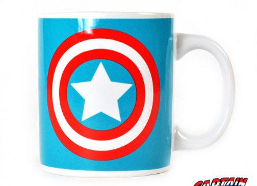 Mug logo Captain America