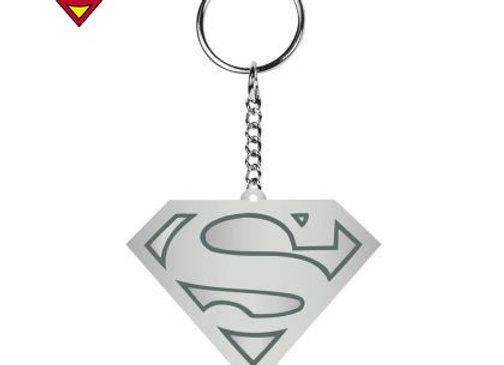 Porte-clés métal logo Superman