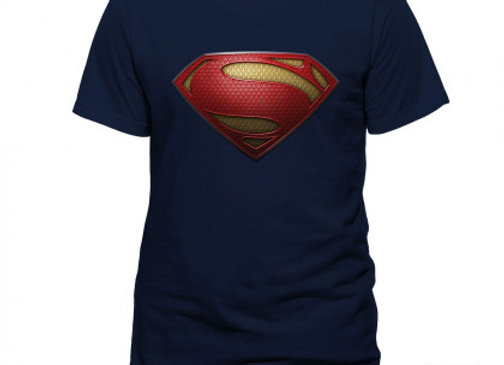T-shirt classique SUPERMAN MAN OF STEEL