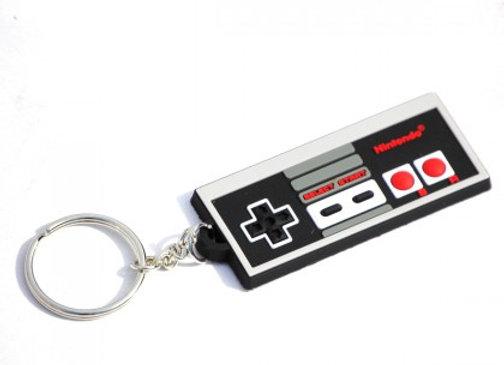 Porte-clés Nintendo manette Nes caoutchouc