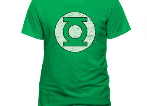T-shirt classique vert GREEN LANTERN