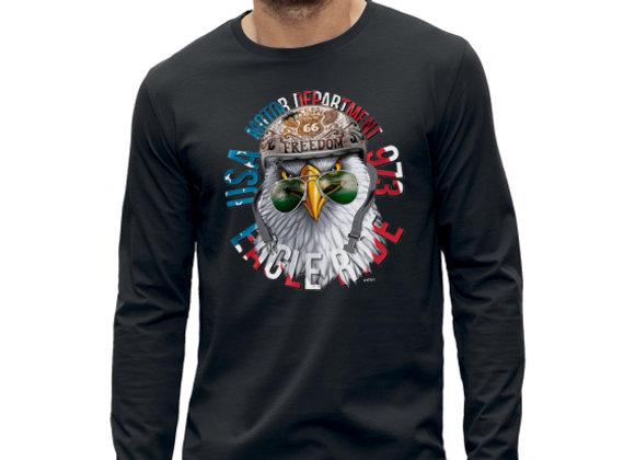 T-shirt classique manches longues AIGLE USA BIKERS