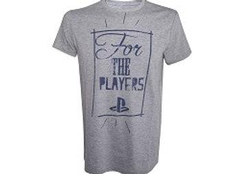 T-shirt classique gris PLAYER