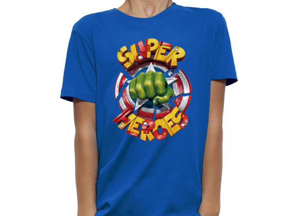 T-shirt classique SUPER HEROES