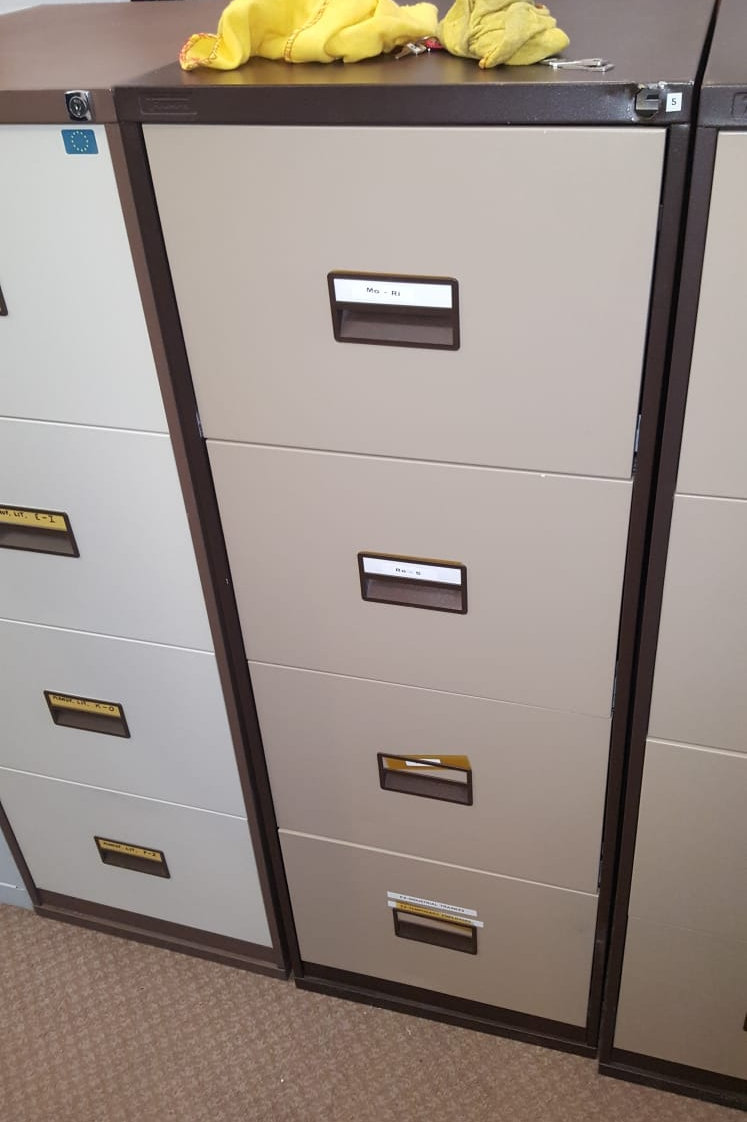 Used 4 Drawer Foolscap Filing Cabinet