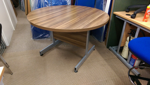 Factory Seconds Meeting Table Walnut - Cheap meeting table