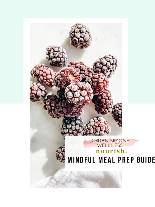 Mindful Meal Prep Guide