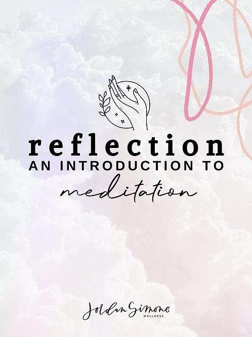 Reflection: Intro to Meditation E-Book