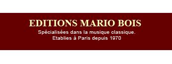Mario Bois Editeur