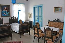 Virtaan kartano, sininen huone
