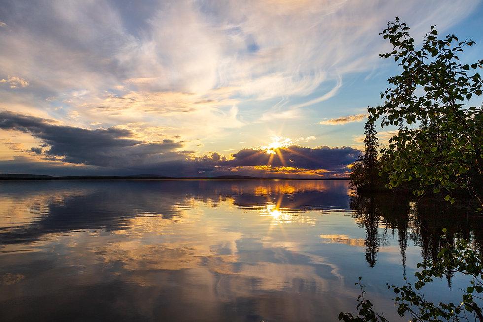 laplanddream_2020_Wolkenspiegelung-Abend