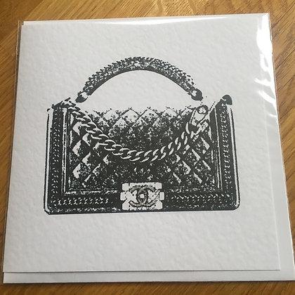 Chanel Handbag Card
