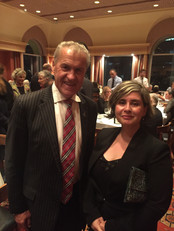 NZ Speaker of the House David Carter and Maty Nikkhou-O'Brien