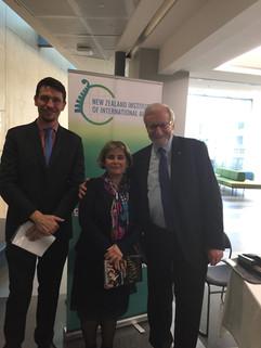 Hosting former Australian Foreign Minister Gareth Evans