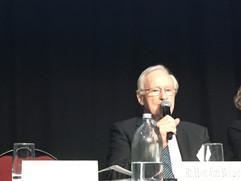 NZ former Prime Minister Jim Bolger