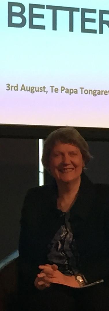 British High Commissioner HE Laura Clarke and the Rt Hon Helen Clark
