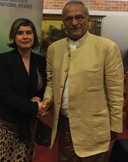 Hosting Nobel Peace Price Laureate Dr Jose Ramos Horta
