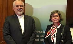Hosting Iranian Foreign Minister Dr Javad Zarif