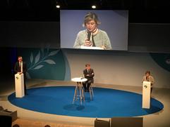 Maty Nikkhou-O'Brien at Paris Peace Forum 2018