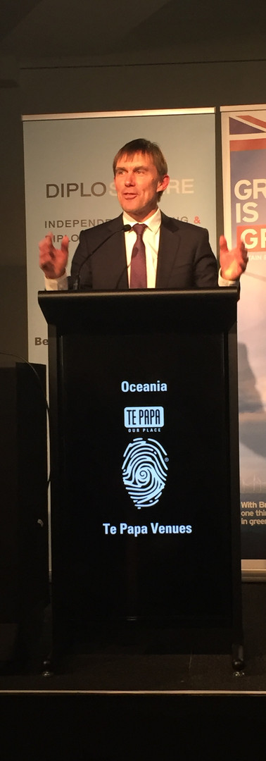 Wellington Mayor Andy Foster