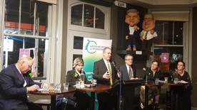 Maty Nikkhou-O'Bien, NZIIA Farewell at the Backbencher before over 200 guests
