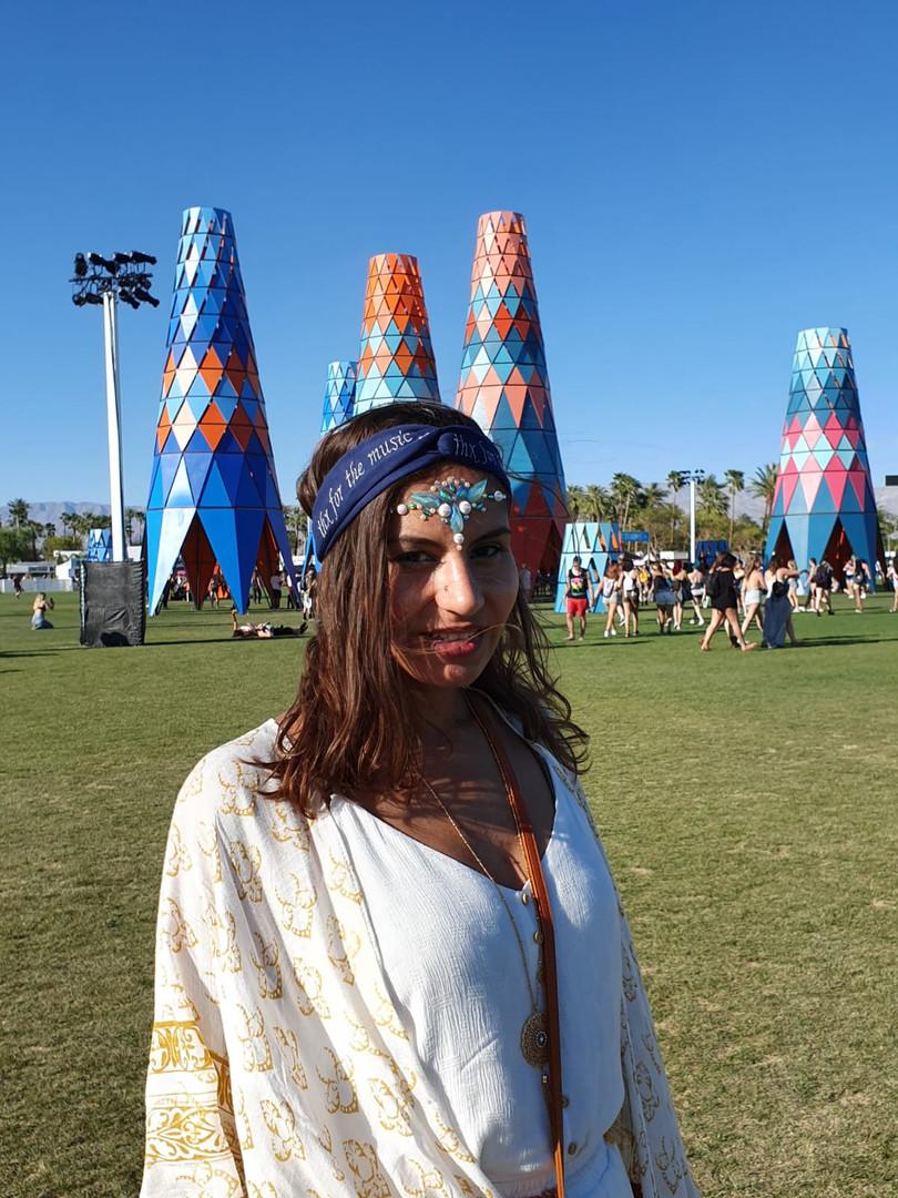 Bandeau classique à Coachella