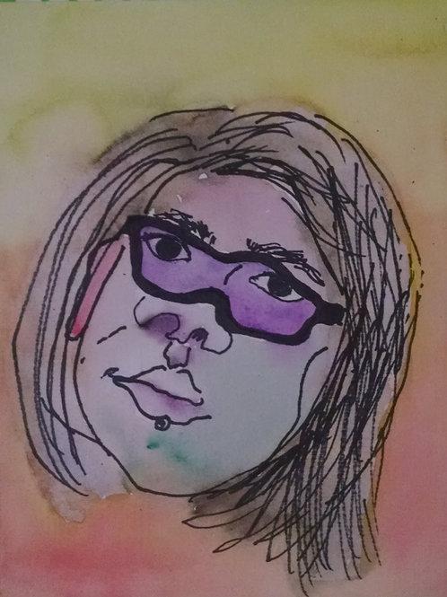 custom watercolor portrait (individual)